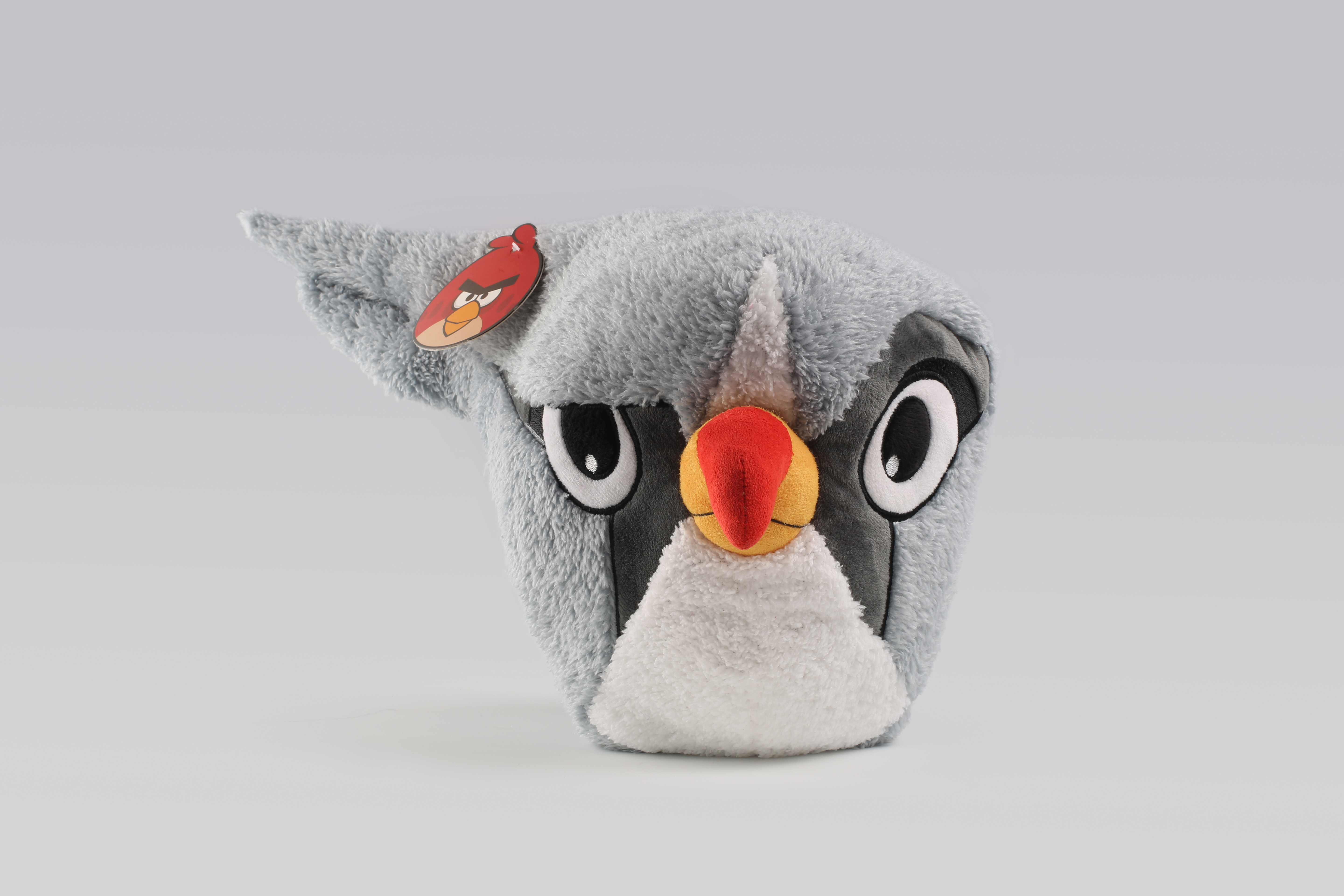 Pg001 Angry Birds Classic Silver Plush Toy Manufacturer In China